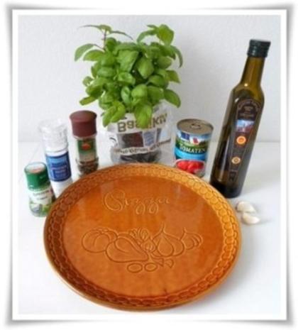 Selbstgemachte sämige Pizza-Tomatensauce - Rezept - Bild Nr. 2