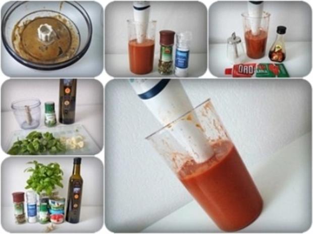 Selbstgemachte sämige Pizza-Tomatensauce - Rezept - Bild Nr. 3