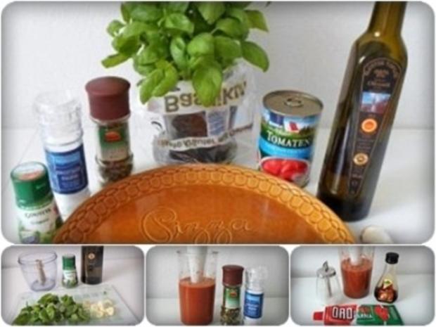 Selbstgemachte sämige Pizza-Tomatensauce - Rezept - Bild Nr. 16