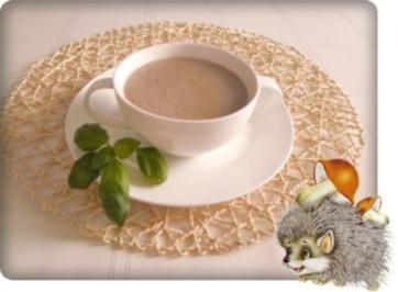 Cremige  Champignon Suppe - Rezept