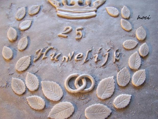 25 HUWELIJK - eine einfache Hochzeitstorte - Rezept - Bild Nr. 8