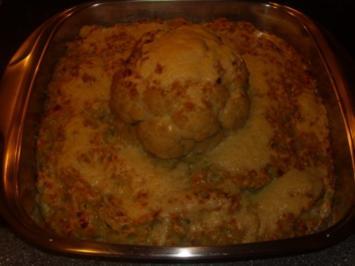 Kartoffel-Blumenkohl-Rosenkohl Auflauf - Rezept