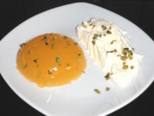 Orangen-Wackelpudding - Rezept