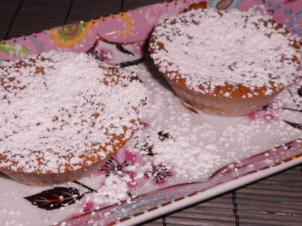 Kuchen: Schoko-Käse-Küchlein mit Kirschen - Rezept