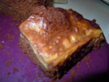 Vanillepudding-Brownies - Rezept