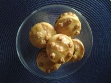 Hackfleisch-Pastetchen - Mürbeteig (12 er-Muffinform -oder ca. 30 Minimuffinförmchen) - Rezept
