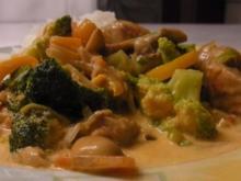 Puten-Curry-Pfanne - Rezept