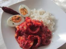 Ei-Curry - Rezept