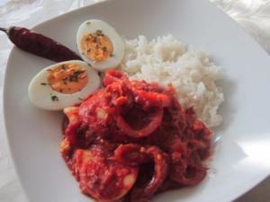 Ei-Curry - Rezept