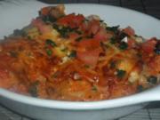 Ofengerichte: Bunte Schinken-Gemüse-Lasagne - Rezept
