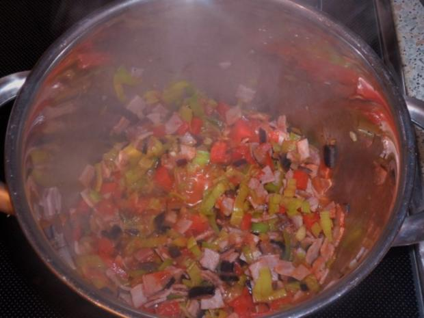 Ofengerichte: Bunte Schinken-Gemüse-Lasagne - Rezept - Bild Nr. 5