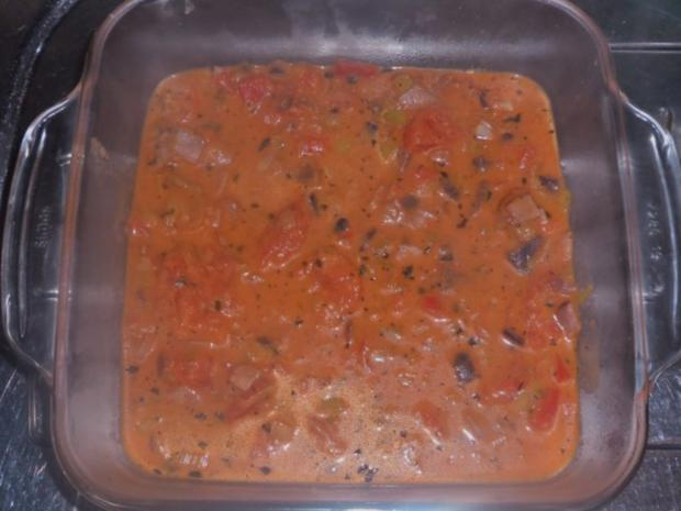 Ofengerichte: Bunte Schinken-Gemüse-Lasagne - Rezept - Bild Nr. 8