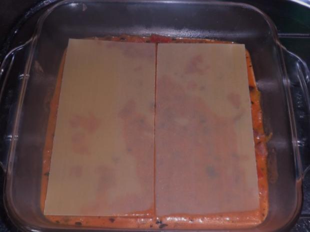 Ofengerichte: Bunte Schinken-Gemüse-Lasagne - Rezept - Bild Nr. 9