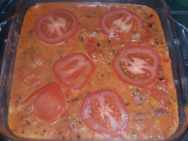 Ofengerichte: Bunte Schinken-Gemüse-Lasagne - Rezept - Bild Nr. 10