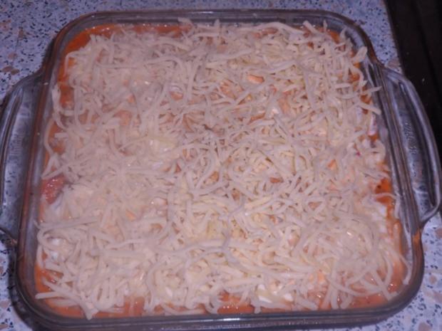 Ofengerichte: Bunte Schinken-Gemüse-Lasagne - Rezept - Bild Nr. 12