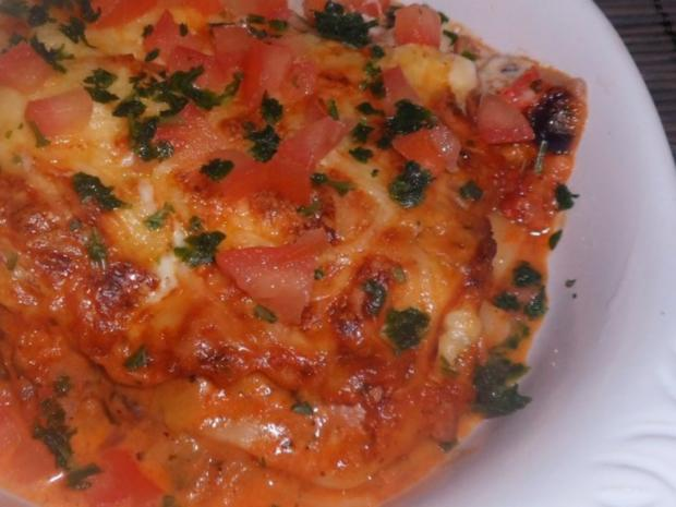 Ofengerichte: Bunte Schinken-Gemüse-Lasagne - Rezept - Bild Nr. 15