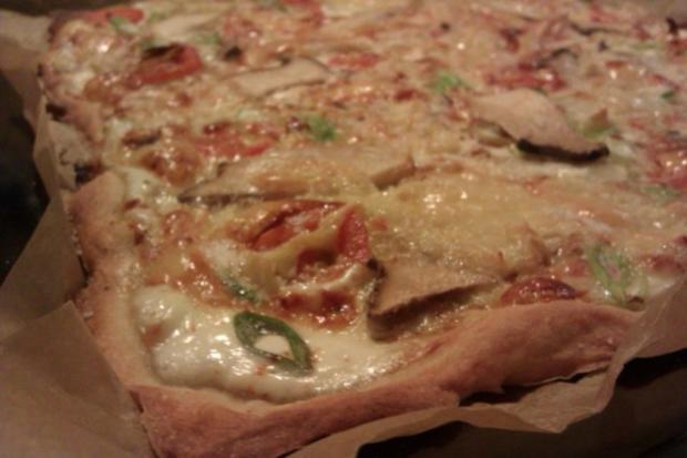 "Deftiger Flammenkuchen ""Vegetarisch"" - Rezept - Bild Nr. 5"