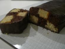 Schachbrett-Kuchen - Rezept