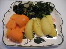 Gemüsebeilage : Grünkohl - voll vegan :-) - Rezept