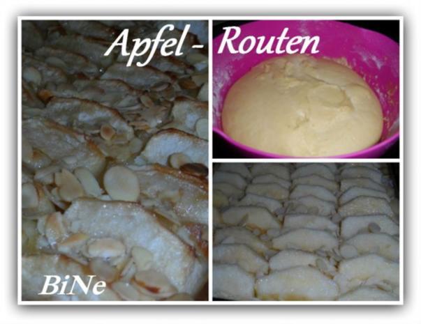 BiNe` S APFEL - ROUTEN - Rezept