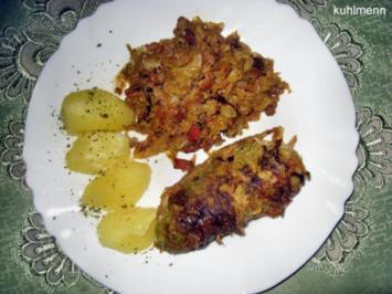 Wirsing-Rouladen/-Schmorkohl - Rezept