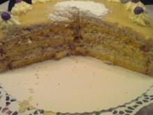 Nuss-Sahne- Torte - Rezept