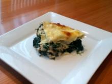 Spinat-Lachs Lasagne - Rezept
