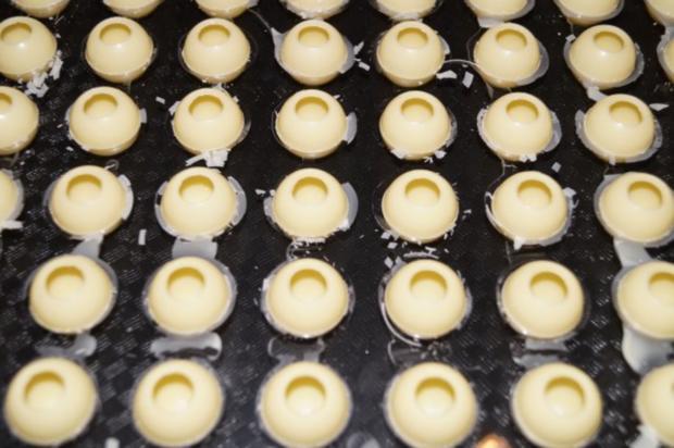 Himbeer-Banane-Chili Pralinen - Rezept