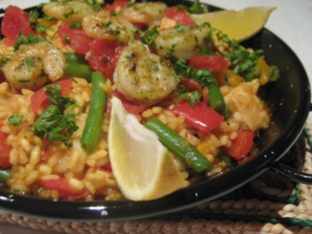 meine Paella mixta - Rezept
