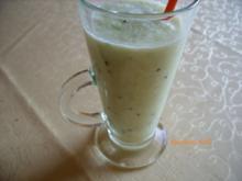 Smoothie: Melone-Kiwi - Rezept