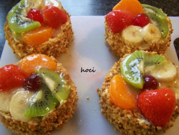 Kleine fruchtige Törtchen - Rezept - Bild Nr. 4