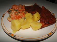 Möhrengemüse in Sahnesauce gekocht in Rinderbrühe - Rezept