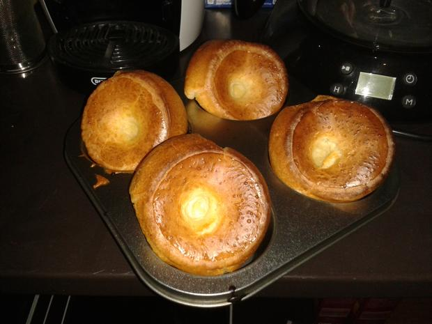 Grandma´s Yorkshire Pudding ´s - Rezept