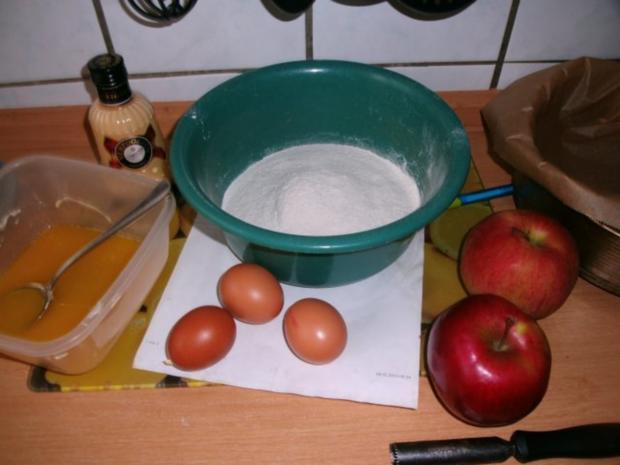 Sonntagskuchen-Versunkende  Apfeltorte mit Hicks - Rezept - Bild Nr. 3