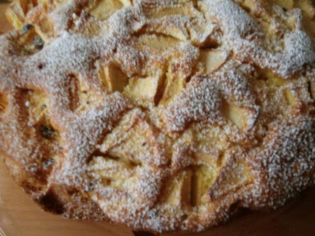 Sonntagskuchen-Versunkende  Apfeltorte mit Hicks - Rezept