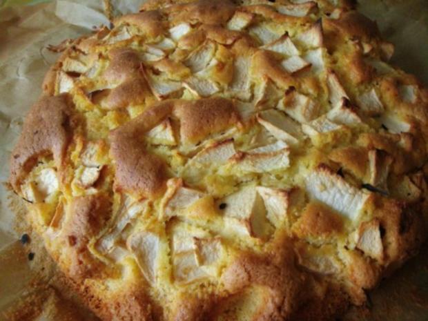 Sonntagskuchen-Versunkende  Apfeltorte mit Hicks - Rezept - Bild Nr. 6