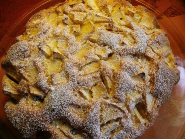 Sonntagskuchen-Versunkende  Apfeltorte mit Hicks - Rezept - Bild Nr. 2