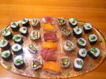 Rezept: Sushi Variationen