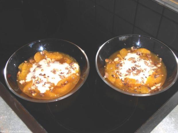 Orangensalat mit Honig-Joghurt - Rezept - Bild Nr. 2