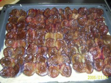 Kuchen: Marzipan-Pflaumen-Schnitten..... - Rezept