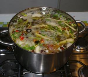 Phó Bó oder Hanoisuppe - Rezept