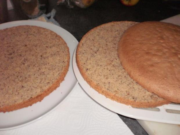 Apfel-Nuss-Torte mit Eierlikör - Rezept - Bild Nr. 10