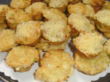 Mini-Käsemuffins - Rezept