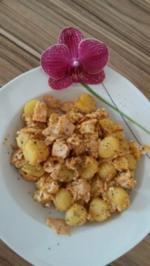Melonen-Pfanne - Rezept