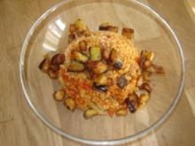 Bulgur mit Gemüse und Fleisch - Rezept