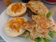 Verdammter Chili-Chicken Burger - Rezept