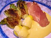 Gebratener Römersalat ... - Rezept