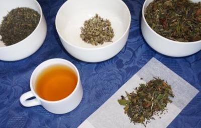 Grüner Orangentee mit Jasmin - Rezept