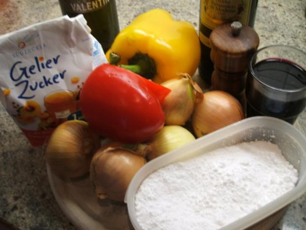 Vorrat: Zwiebel-Paprika-Jam - Rezept - Bild Nr. 2