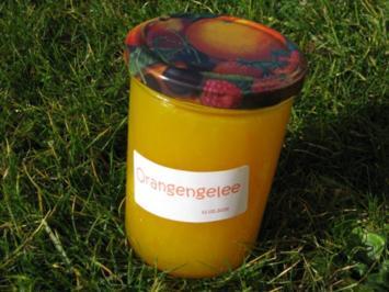 Orangengelee - Rezept